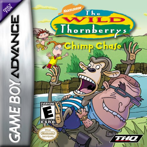 The Wild Thornberrys - Chimp Chase (U)(Venom) Box Art