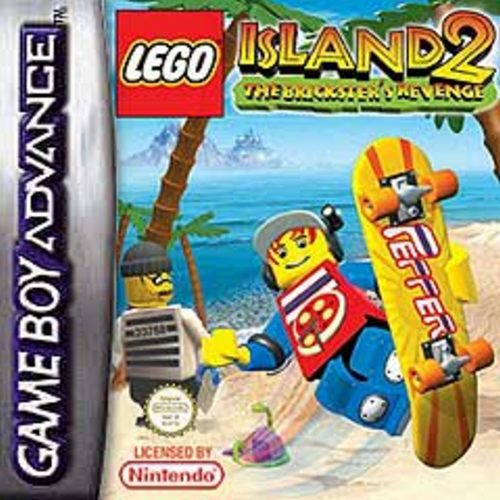Lego Island 2 - The Brickster's Revenge (E)(Paradox) Box Art