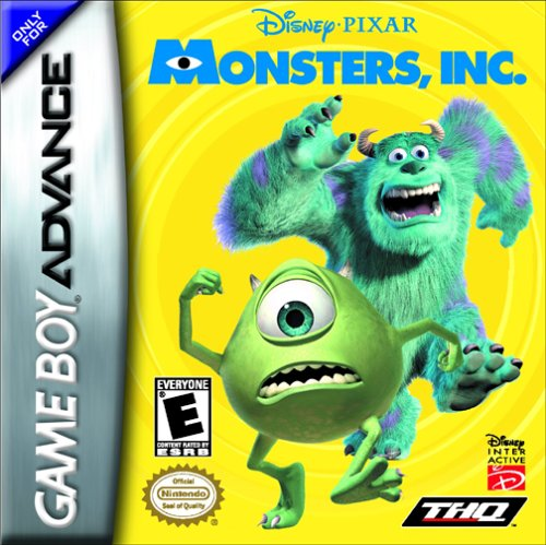 Monsters Inc. (U)(Mode7) Box Art