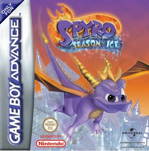 Spyro - Season of Ice (E)(Eurasia) Box Art