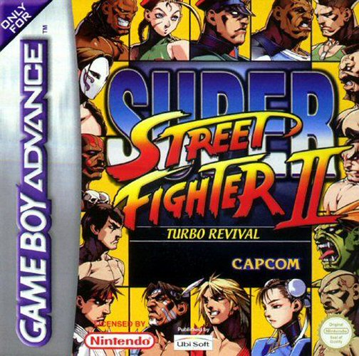 Super Street Fighter II Turbo Revival (E)(High Society) Box Art