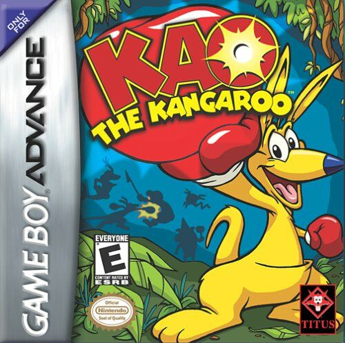 Kao the Kangaroo (U)(Paracox) Box Art
