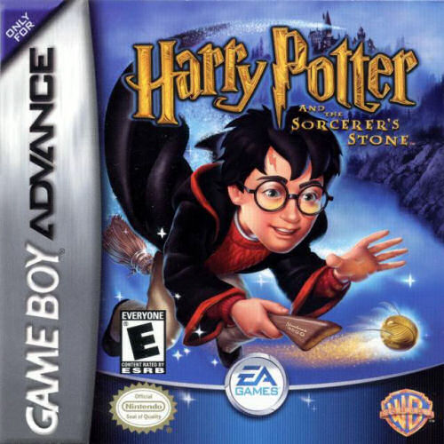 Harry Potter And The Sorcerer S Stone U Lightforce Rom Gba Roms