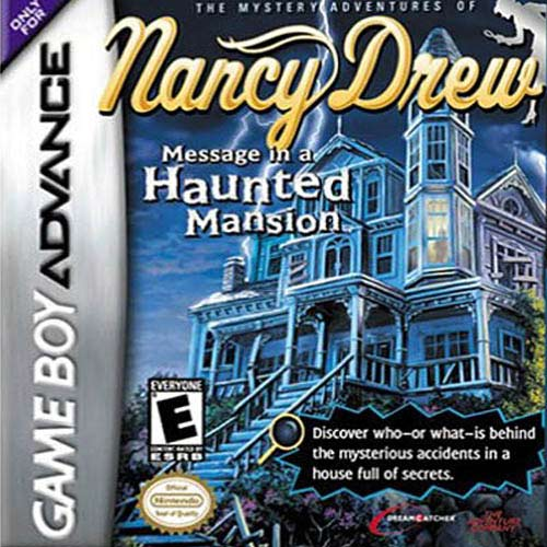Nancy Drew - Message in a Haunted Mansion (U)(Eurasia) Box Art