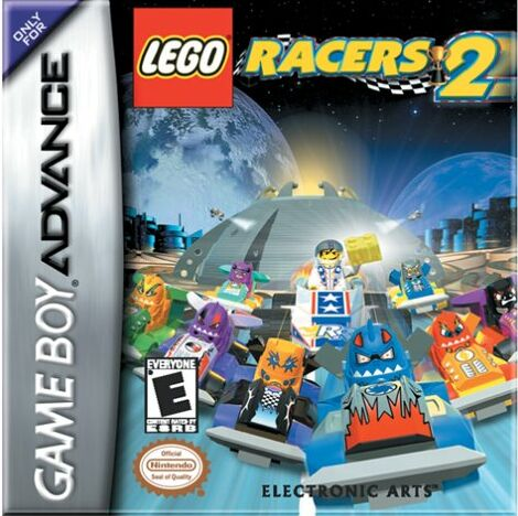 Lego Racers 2 (U)(Venom) Box Art