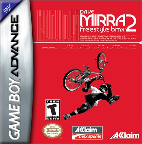 Dave Mirra Freestyle BMX 2 (U)(Venom) Box Art