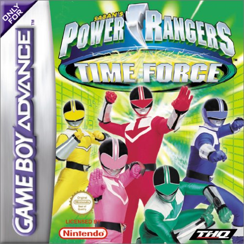Power Rangers - Time Force (G)(Cezar) Box Art