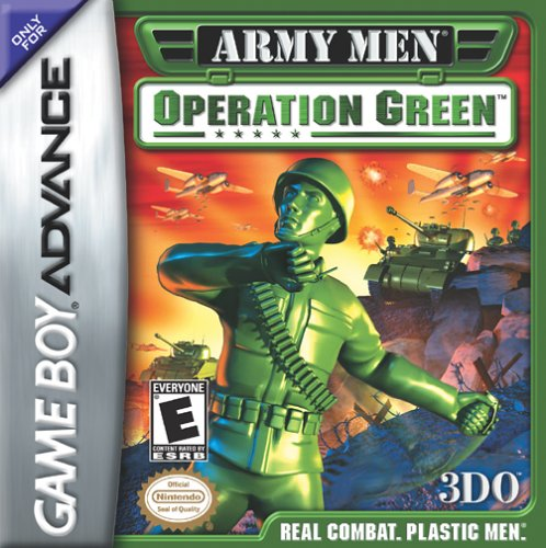 Army Men - Operation Green (U)(Menace) Box Art