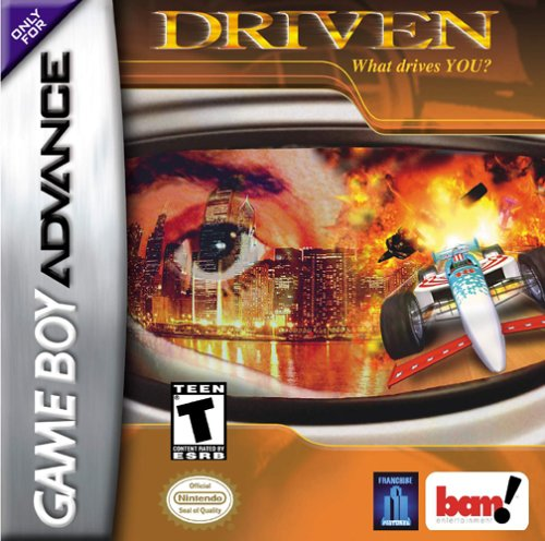 Driven (U)(Mode7) Box Art