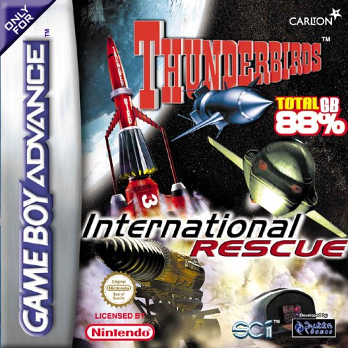Thunderbirds - International Rescue (E)(Venom) Box Art