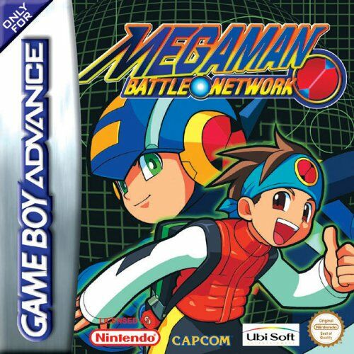 MegaMan Battle Network (E)(Rocket) Box Art