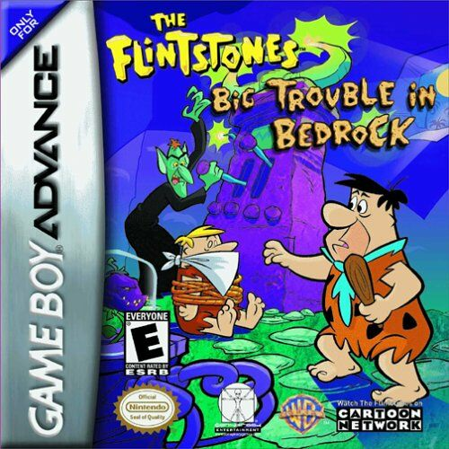 The Flintstones - Big Trouble in Bedrock (U)(Lightforce) Box Art