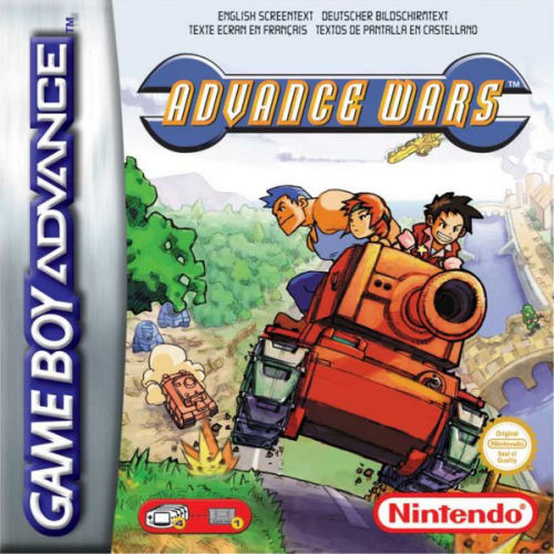 Advance Wars (E)(Arrogance) Box Art