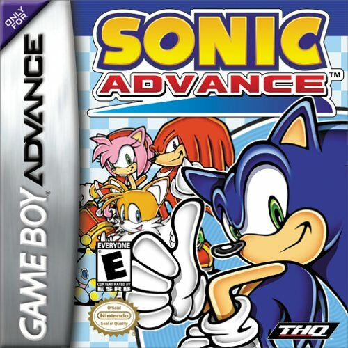 Sonic Advance (U)(Lord Moyne) Box Art
