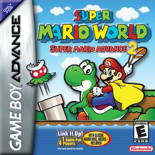 Super Mario World Super Mario Advance 2 U Mode7 Rom Gba Roms