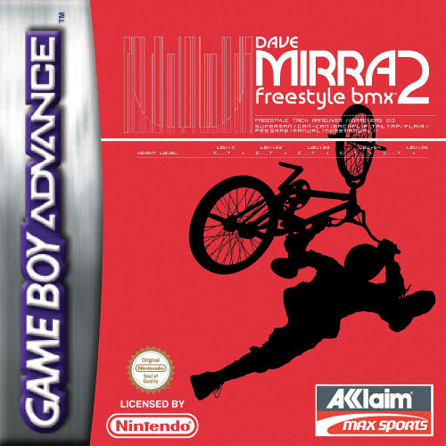 Dave Mirra Freestyle BMX 2 (E)(Rocket) Box Art