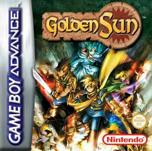Golden Sun (F)(Moleia) Box Art