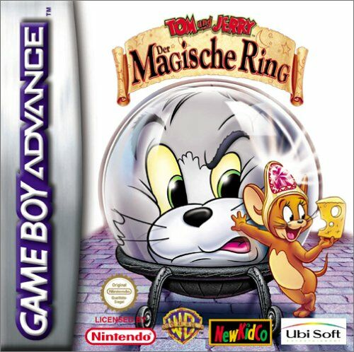 Tom and Jerry - The Magic Ring (E)(Rocket) Box Art
