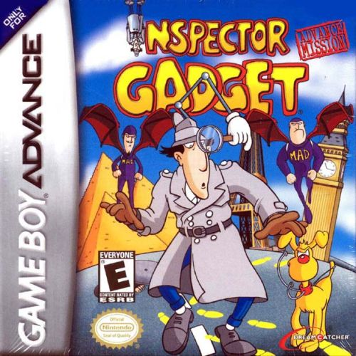 Inspector Gadget - Advance Mission (U)(Nobody) Box Art