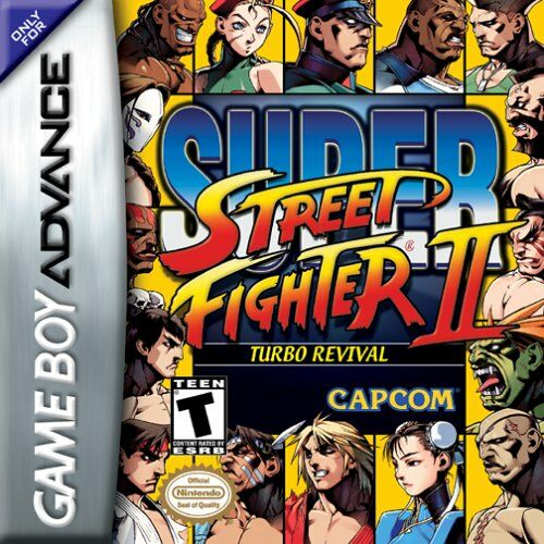 Super Street Fighter II Turbo Revival (U)(Nobody) Box Art