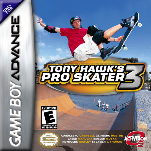 Tony Hawk's Pro Skater 3 (U)(The Corporation) Box Art