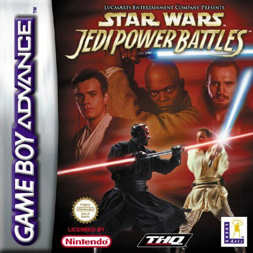 Star Wars - Jedi Power Battles (E)(Rocket) Box Art