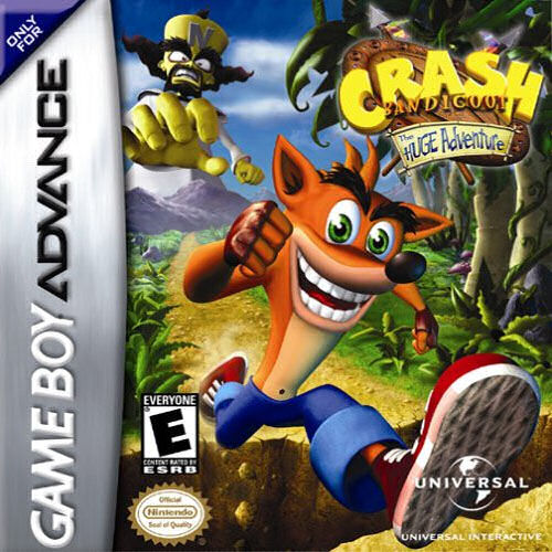 Crash Bandicoot - The Huge Adventure (U)(Independent) Box Art