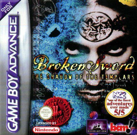 broken sword la leyenda de los templarios gba