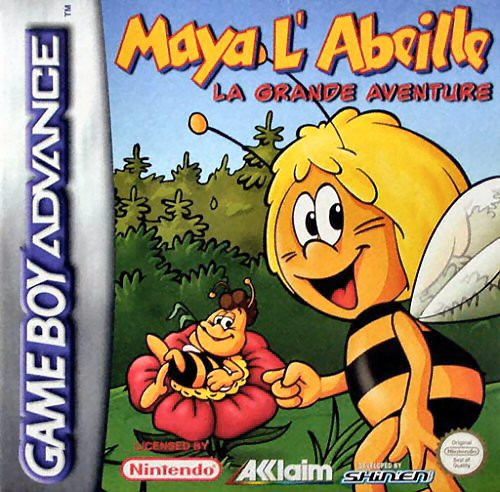 Maya the Bee - The Great Adventure (E)(Venom) Box Art