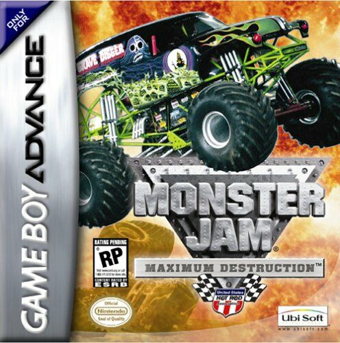 Monster Jam - Maximum Destruction (U)(Venom) Box Art