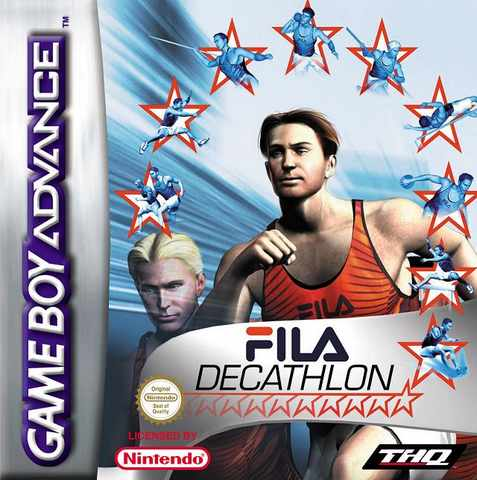 FILA Decathlon (E)(Venom) Box Art