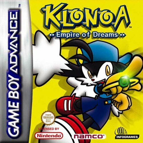 Klonoa - Empire of Dreams (E)(Rocket) Box Art