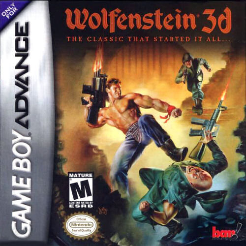 Wolfenstein 3d u mode7 rom for Wolfenstein 3d