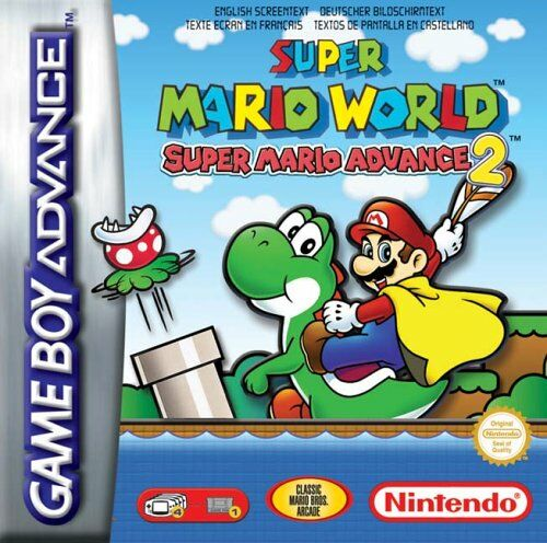 Super Mario World - Super Mario Advance 2 (E)(Cezar) Box Art