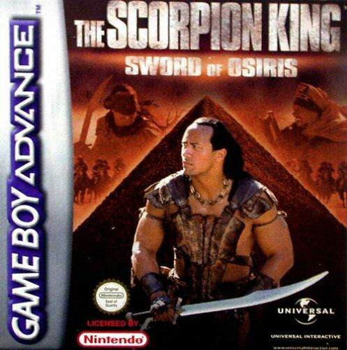 The Scorpion King - Sword of Osiris (E)(Cezar) Box Art