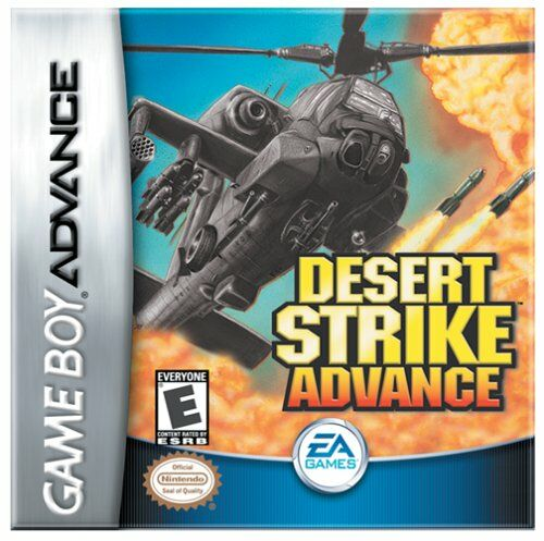 Desert Strike Advance (U)(Venom) Box Art