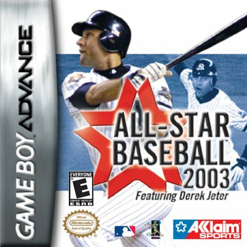 All-Star Baseball 2003 (U)(Venom) Box Art