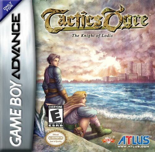 Tactics Ogre - The Knight of Lodis (U)(Mode7) Box Art
