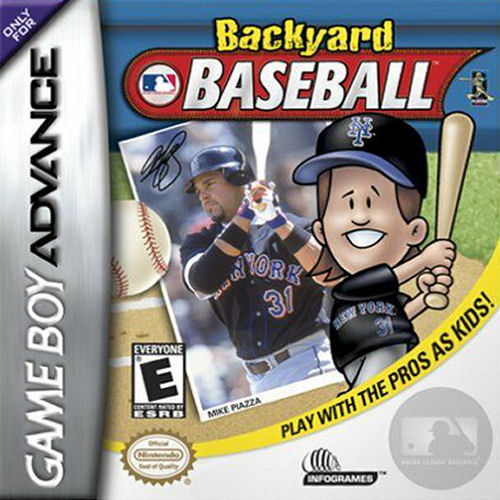 Backyard Baseball (U)(Venom) Box Art