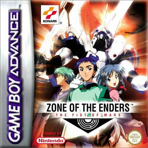 Zone of the Enders - The Fist of Mars (E)(Cezar) Box Art