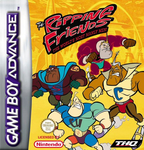 The Ripping Friends (E)(Patience) Box Art