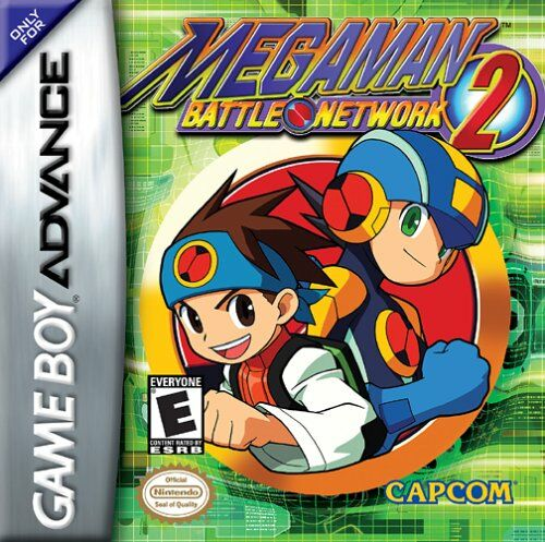 MegaMan Battle Network 2 (U)(Mode7) Box Art