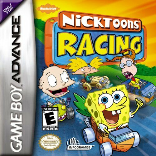 Nicktoons Racing (U)(Venom) Box Art