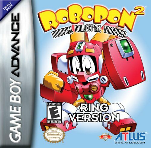 Robopon 2 - Ring Version (U)(Mode7) Box Art