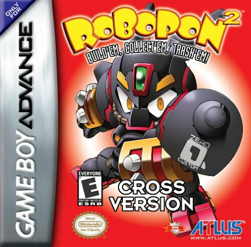 Robopon 2 - Cross Version (U)(Mode7) Box Art