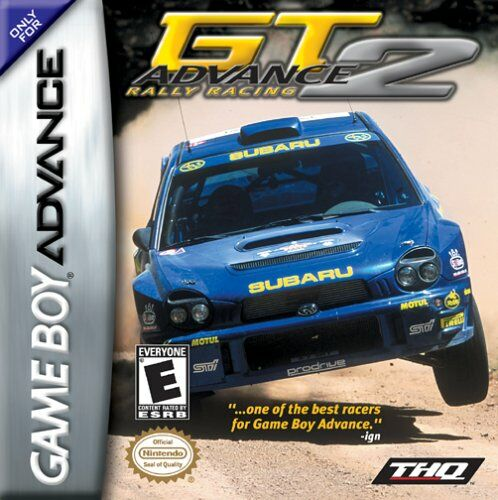 GT Advance 2 - Rally Racing (U)(Mode7) Box Art