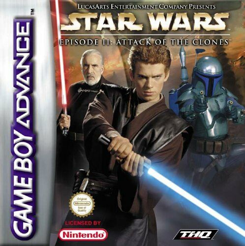 Star Wars Episode II - Attack Of The Clones (E)(Patience) Box Art