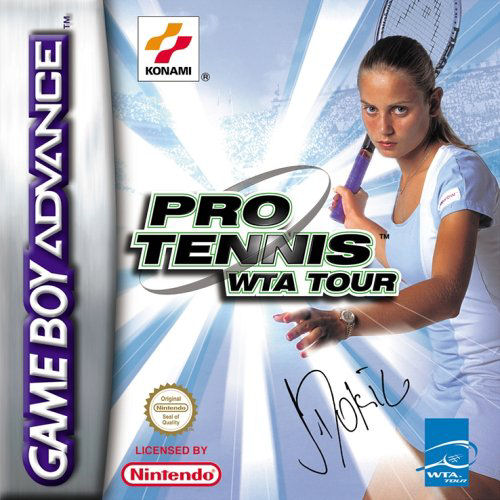 Pro Tennis WTA Tour (E)(Patience) Box Art