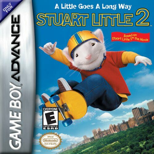 Stuart Little 2 (U)(Venom) Box Art