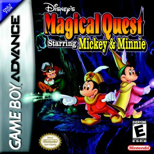 Disney's Magical Quest Starring Mickey and Minnie (U)(Eurasia) Box Art